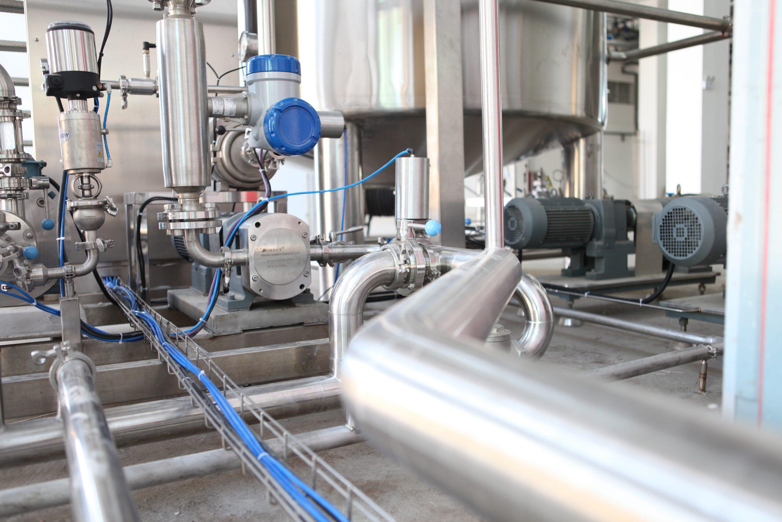 Limpieza de plantas industriales