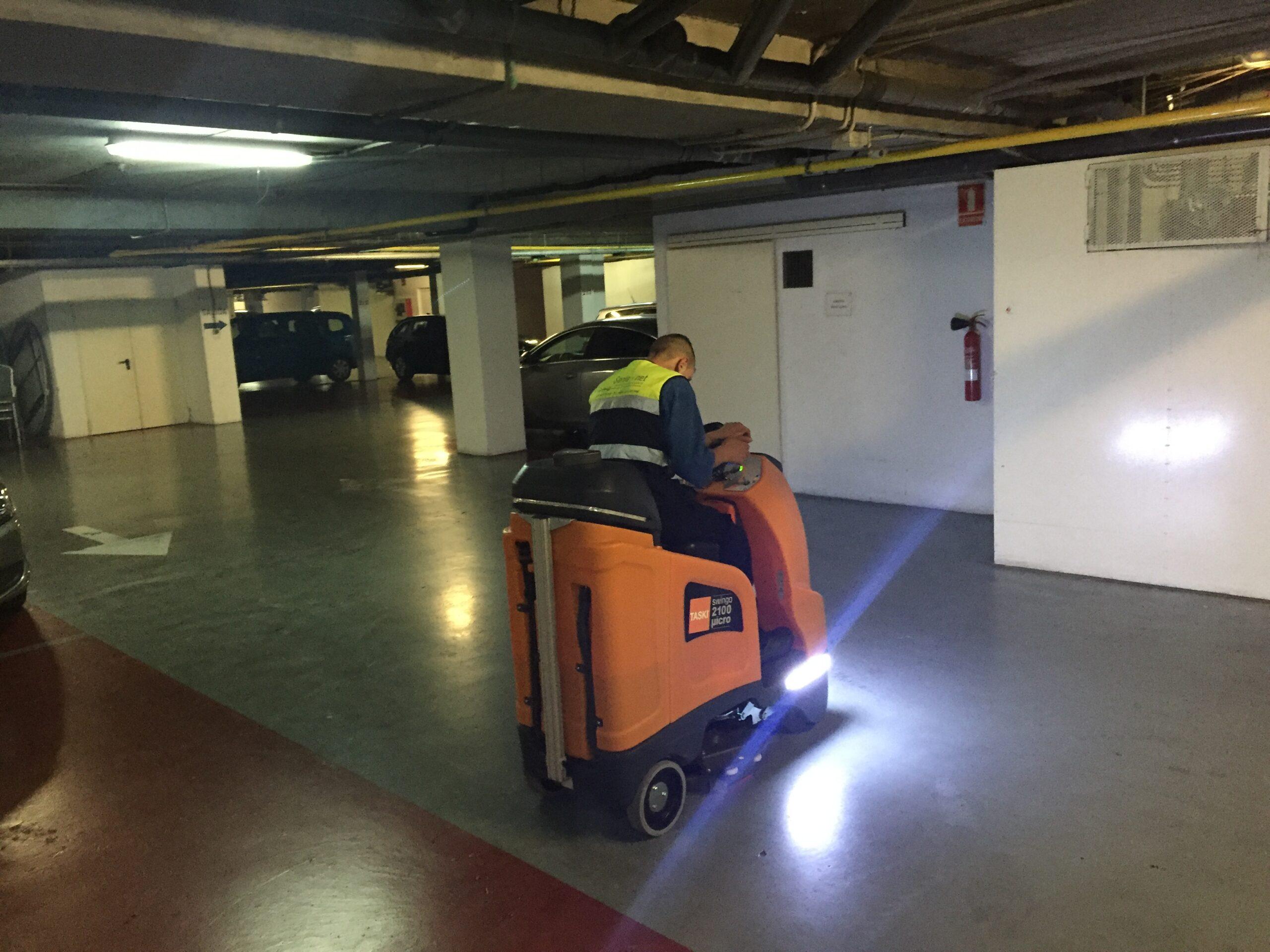 Parkings y Limpieza de Garajes