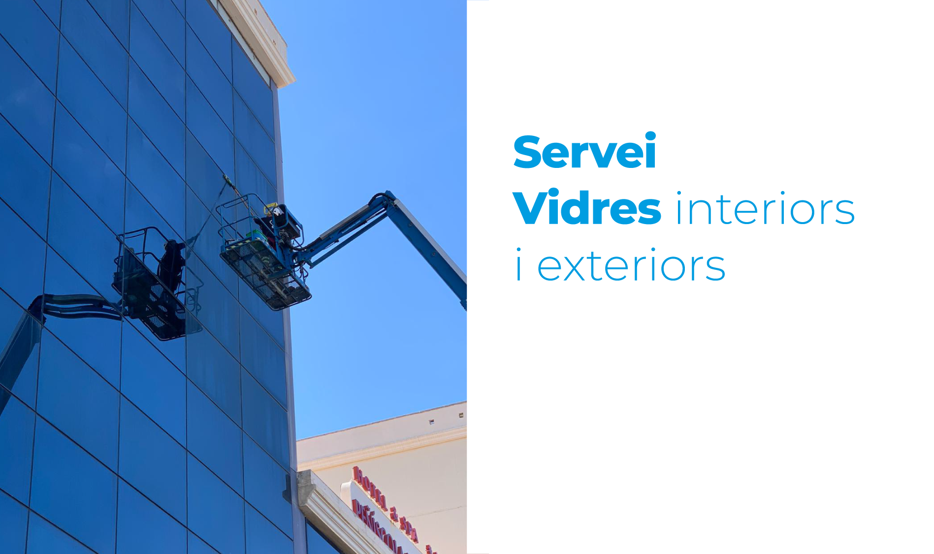 Servei Vidres interiors i exteriors